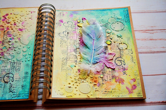 Art journal video tutorial